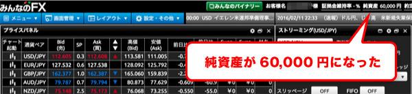 純資産が6万円